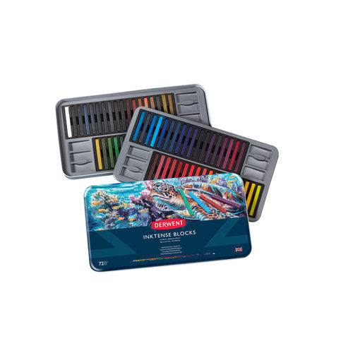 Derwent INKTENSE Blocks Sets- Tin of 72