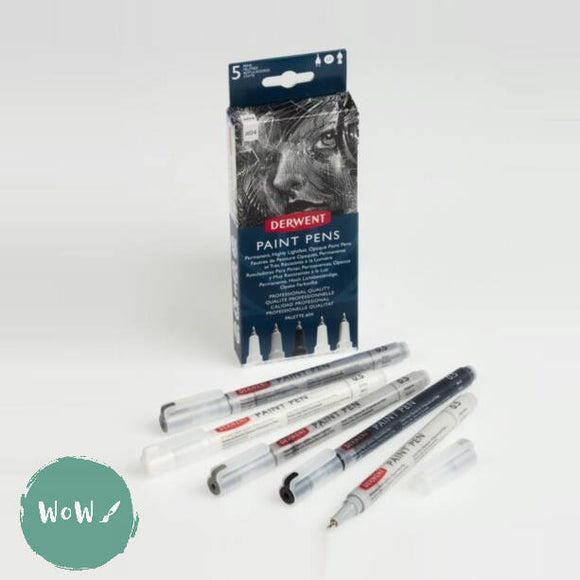 Derwent Paint Pen Set of 5- Palette No. 4