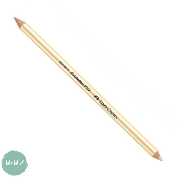 Eraser- Faber Castell 7057 Perfection Double Ended Eraser Pencil