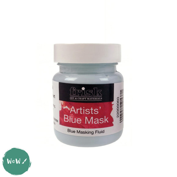 Frisk Artists Blue Mask- Masking Fluid 60ml