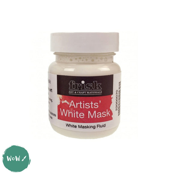 Frisk Artists White Mask- Masking Fluid 60ml