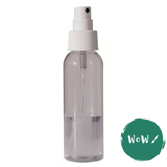 Plastic atomiser bottle 100ml