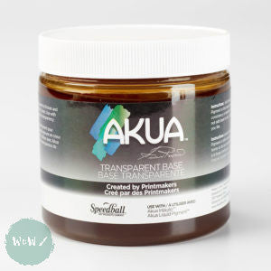 Akua Modifiers 8oz. (224ml) Transparent Base (For Akua Intaglio or Liquid Pigment Inks)