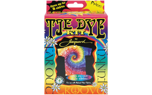 Jacquard Funky Groovy Tie Dye Kit-Traditional