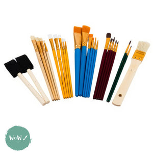 Value Starter Brush set of 25