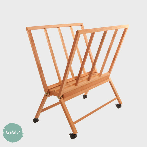 Print Rack- Mabef M/40 Giant Wooden Folding  with castors
