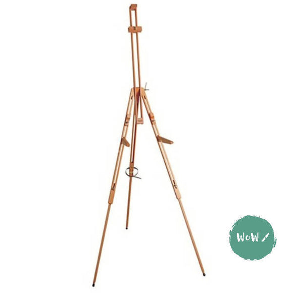 Mabef Folding Field Easel with folding support brackets M 27