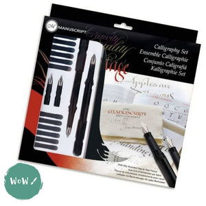 MANUSCRIPT Calligraphy Fountain Pen Set- Masterclass Gift Set