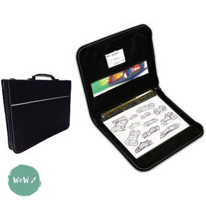 Presentation Portfolio with rings-Artcare Quartz case A1 by Mapac