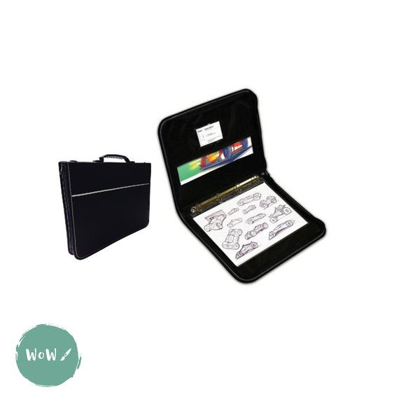 Presentation Portfolio with rings-Artcare Quartz case A3, by Mapac