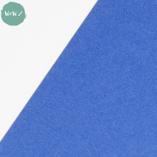 CLAIREFONTAINE MAYA coloured PAPER  120g  A1 - Royal Blue PACK of 25