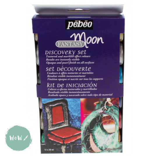 PEBEO Fantasy Moon Colours- Discovery set 12 x 20ml