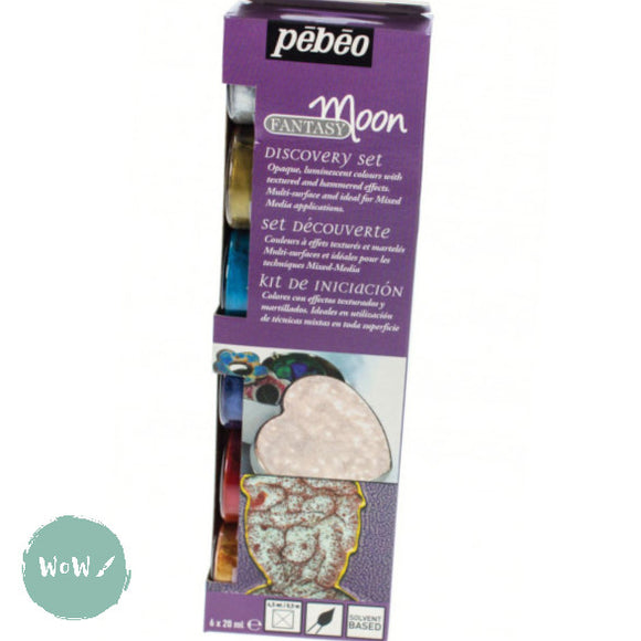 PEBEO Fantasy Moon Colours- Discovery set 6 x 20ml