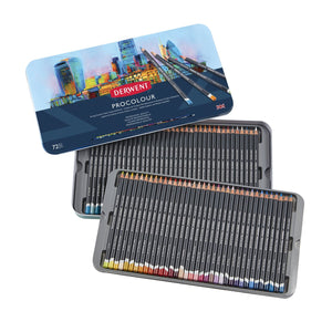 Derwent Procolour Pencils Tin 72