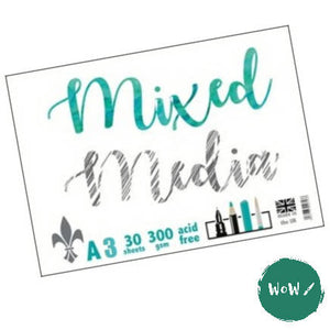 Mixed Media pad 300gsm- A3