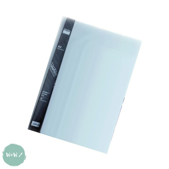 Display Book- Seawhite 'View' A2 Clear Book, 10 clear pockets