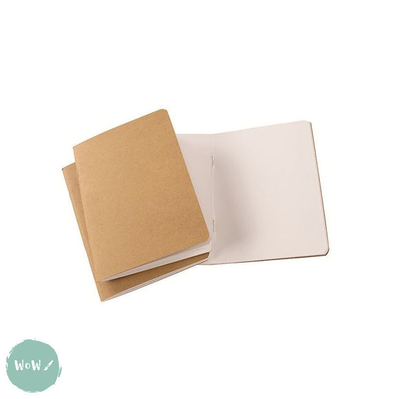 Softback sketchbook, 20 sheets (40 pages) ECO 150 gsm white paper - A4