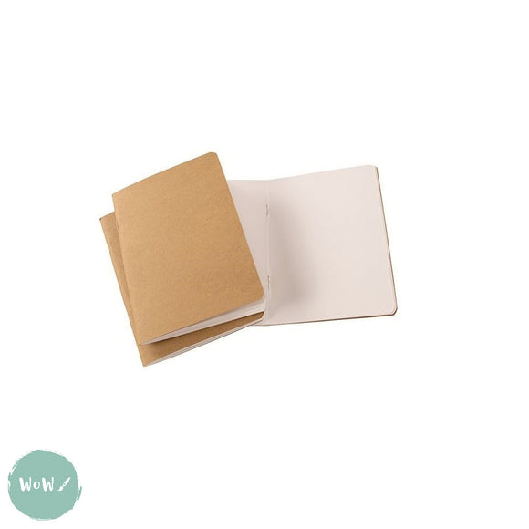 Softback sketchbook, 20 sheets (40 pages) ECO 150 gsm white paper - A5
