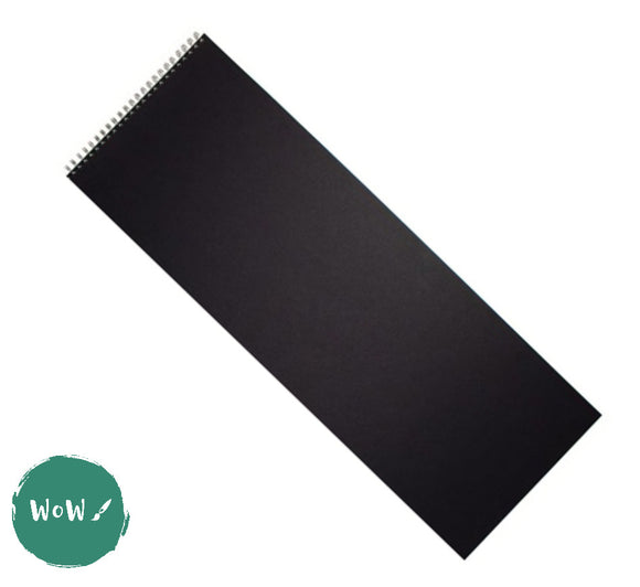 Seawhite Hardback Spiral Bound sketch books 160gsm All-Media Cartridge Paper, Double A3 Panoramic/Maritime
