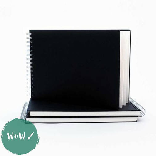 Seawhite Hardback Spiral Bound sketch books 160gsm All-Media Cartridge Paper, A3 Landscape