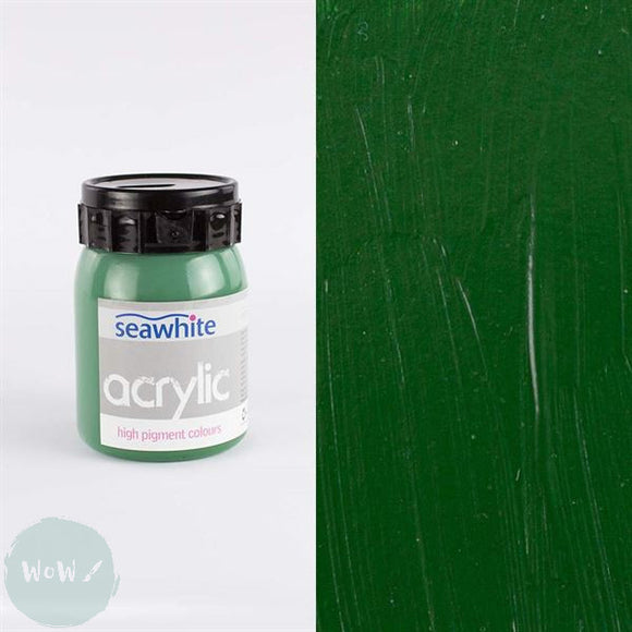 Seawhite High Pigment Acrylic 500ml - Hookers Green