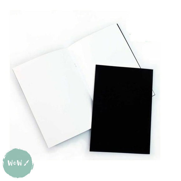 Softback sketchbook, 20 sheets (40 pages) acid free 140 gsm white paper - A3