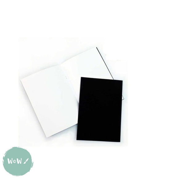 Softback sketchbook, 20 sheets (40 pages) acid free 140 gsm white paper - A4