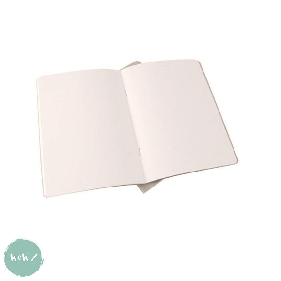 Softback sketchbook, 20 sheets (40 pages) acid free 140 gsm DOT GRID white paper - A4