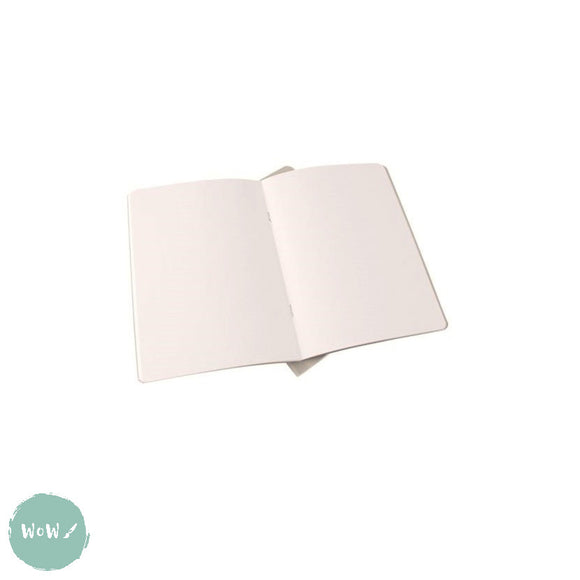 Softback sketchbook, 20 sheets (40 pages) acid free 140 gsm DOT GRID white paper - A5