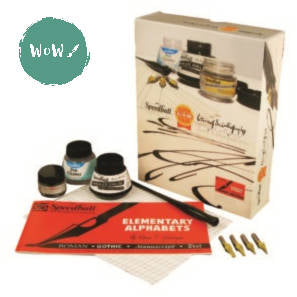 Speedball Dip Pen Calligraphy Pen Set- Super Value Calligraphy Kit