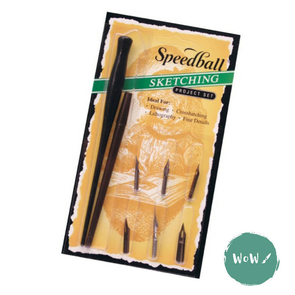 Speedball Dip Pen Calligraphy Pen Set- Sketching