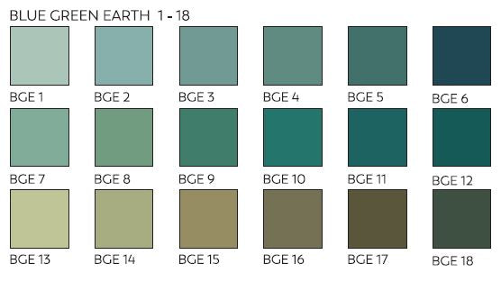 Unison Pastels Blue Green Earth Shades