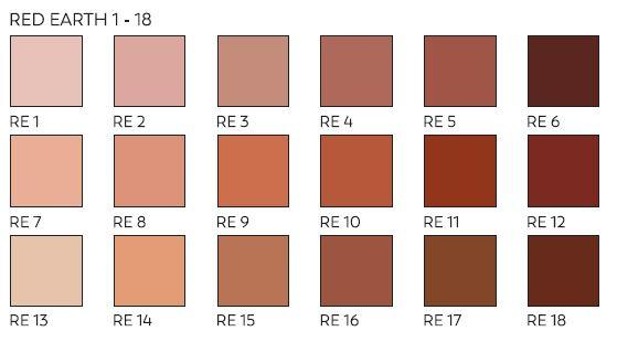 Unison Pastels Red Earth Shades