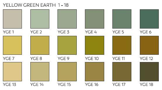 Unison Pastels Yellow Green Earth Shades