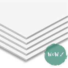 Foamboard 5mm A1- White Single Sheets- Buy 4 sheets for £16