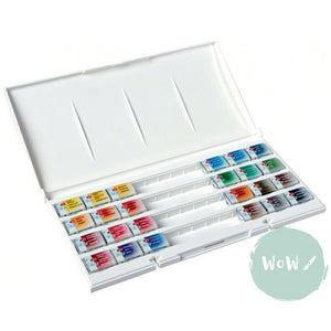 St Petersburg White Nights Watercolour whole pan set of  24