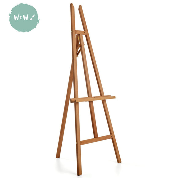 Studio Easel- Beech Wood 'A' Frame w/o top support