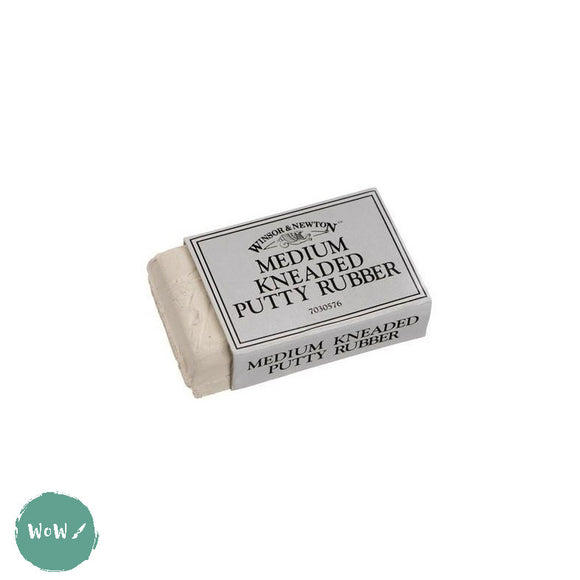 Winsor & Newton Kneaded Putty Rubber- Medium & Large