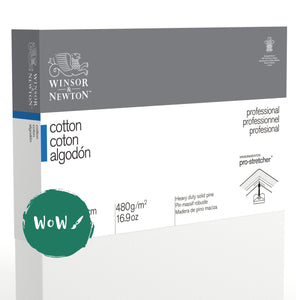 "Winsor & Newton	Professional Canvas  	Cotton Traditional 	10x12""/25.4x30.5cm	Pack of 	5"