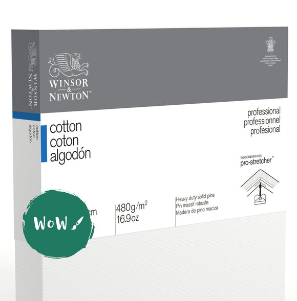 Winsor & Newton	Professional Canvas  	Cotton Traditional 	10x12
