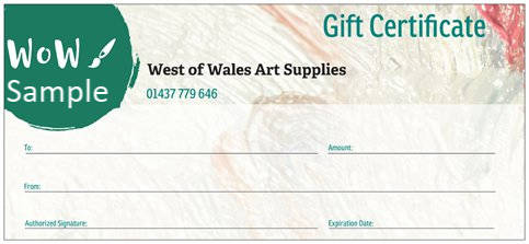 Gift Vouchers, Various Values-Posted free First Class Signed For