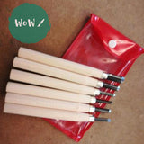 Set of 6 wooden handled Lino cutter tools