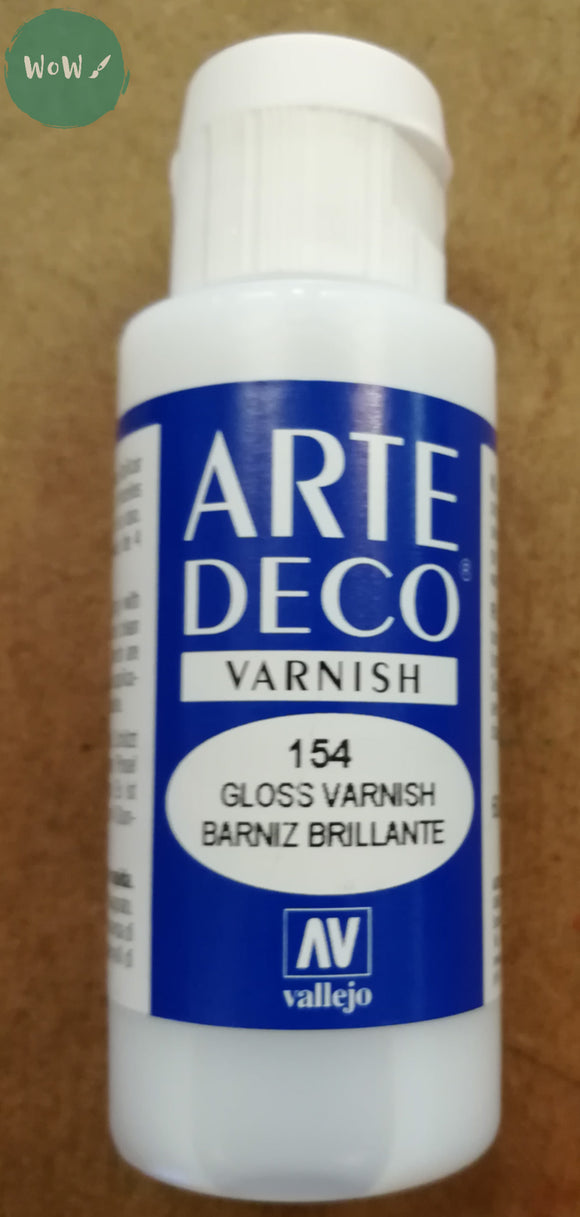 Arte Deco Acrylic Gloss Varnish 60ml