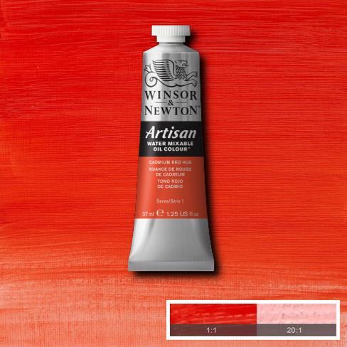 Winsor & Newton Griffin Alkyd Oil Colour 37ml tube-	Cadmium Red Hue
