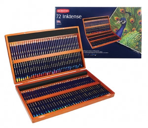 Derwent INKTENSE Pencils Sets- Wooden Box of 72