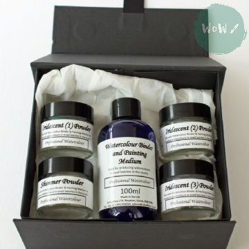 AJ Ludlow Watercolour Medium- Effects Powders Gift Set No. 1