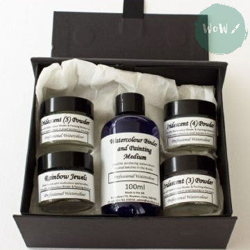 AJ Ludlow Watercolour Medium- Effects Powders Gift Set No. 2