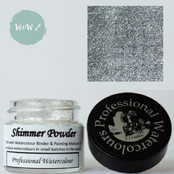 AJ Ludlow Watercolour Medium- Shimmer powder- 4g Jar