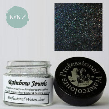AJ Ludlow Watercolour Medium- Rainbow Jewels - 4g Jar