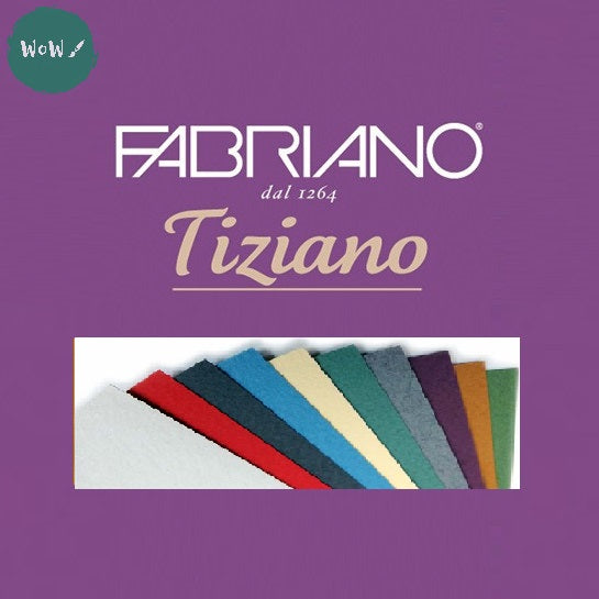 Tiziano sheets 50 x 65cm- 160gsm- Colour: Assorted PACK OF 15